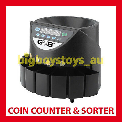 Coin Counter Australian Sorter Automatic Money Counting Machine