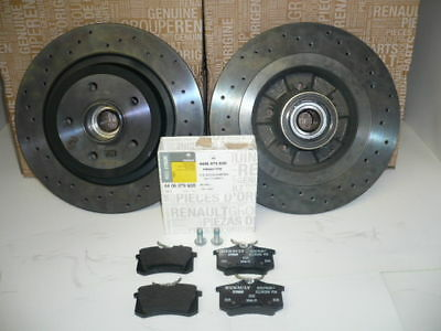 Megane Sport 225 & R26 Genuine Rear Brake Discs & Pads