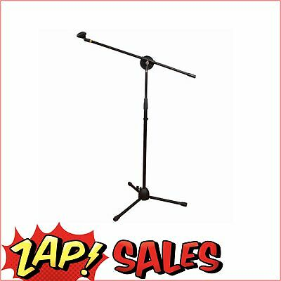 Microphone Stand, Telescopic, Adjustable, Boom Arm, 96-160cm