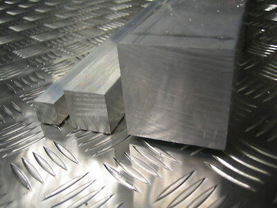 "ALUMINIUM SQUARE BAR - 4"" x 4"" x 200mm Long"