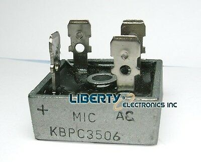 35A by 600V Rectifier Bridge Diode - model: KBPC3506