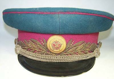 WW2 Russian General's Visor Cap of medicine branch!!!