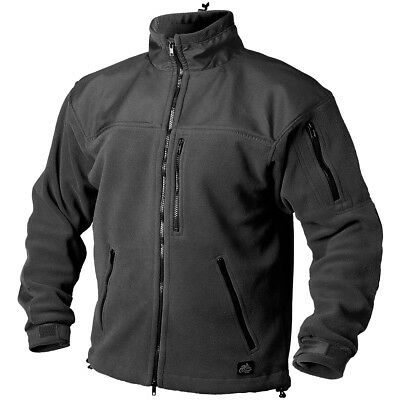 Helikon Tactical Classic Army Mens Fleece Jacket Ski Security Police Black S-3Xl
