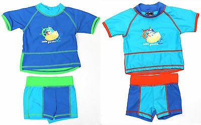 Baby Boys Yabby Rash Set Swimwear 2 Cols Size 000 00 0