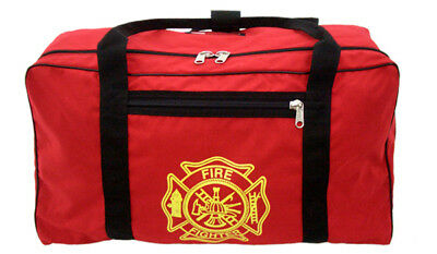 Original Turnout Gear Bag - Red with Maltese Cross