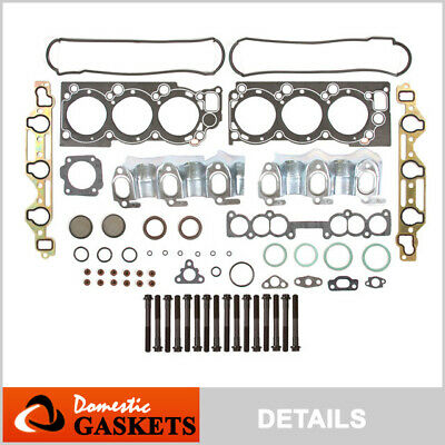 88-95 Toyota Pickup 4Runner T100 3.0L SOHC Head Gasket Head Bolts Set 3VZE