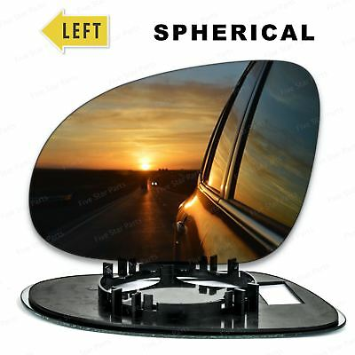 Left Passenger side Wing mirror glass for VW Golf 5 2003-2008