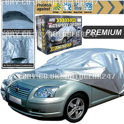 Maypole Premium Small PU Coated Waterproof Full Car Cover MP9331 with Vent >13ft