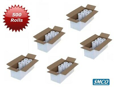 SMCO Thermal Paper Till Rolls 500 Rolls Credit Card 57x40x12.7mm