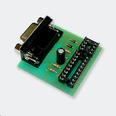 PIC + E-Eprom programmer for PIC16F84 and 24xxx eeproms