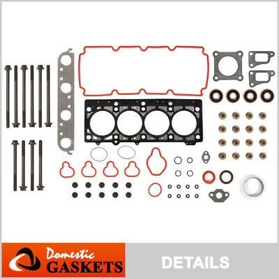 00-05 Dodge Neon Plymouth Breeze Chrysler Cirrus 2.0L SOHC Head Gasket Bolts Set
