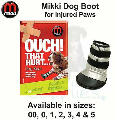 Mikki Dog Paw Pad Vet Protection Boot all sizes