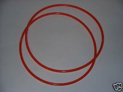 "TWO 3/16"" round urethane drive belts  DRILL PRESS LATHE"