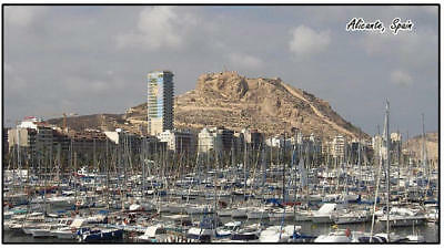 Alicante, Spain - Jumbo Fridge Magnet - Brand New