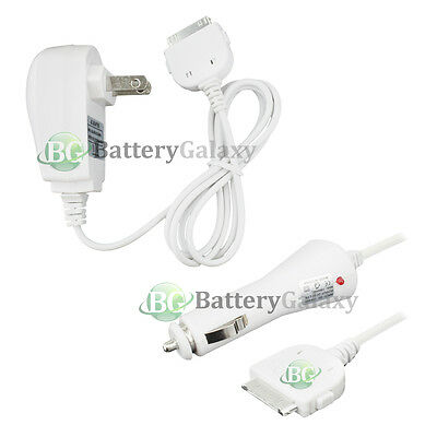 NEW Car+Battery Wall Charger for Apple iPod Classic 1 2 3 4 5 6 7 GEN 400+SOLD