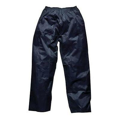 Mens Womens Waterproof Windproof Over Trousers  S - 4Xl