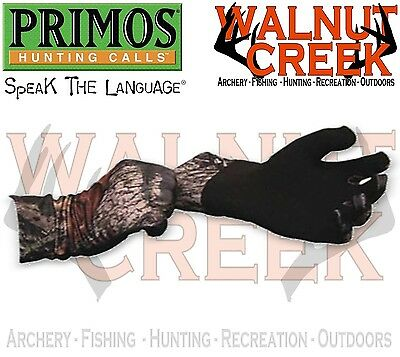 Primos Stretch-Fit Gloves Sure-Grip Extended Cuff #6396
