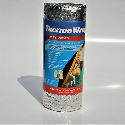 Easy Fit Insulation for Campers/Caravans 400mm x 5m