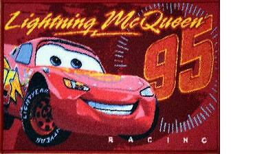 Alfombra Disney Cars Lighting Mc Queen Producto Oficial