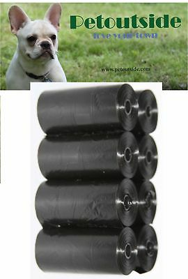 6000 DOG PET WASTE POOP BAGS REFILL ROLLS WITH CORE 50 Retail Packs Petoutside