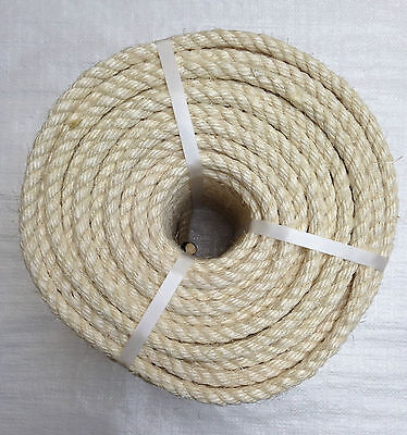 100 Mts X 8 Mm Natural Sisal Rope (Mini Coil)