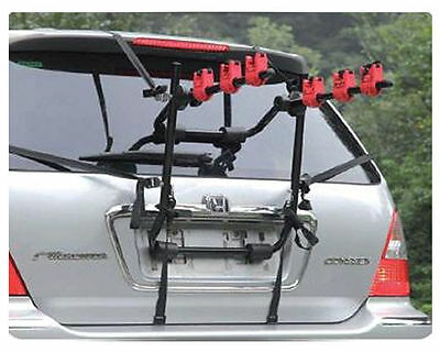 Universal Car Rear Mounted 3 Bike Cycle Bicycle Carrier Holding Rack