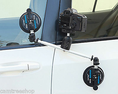 CAMTREE G-2BH Glue suction cup Mount fr Car window boat