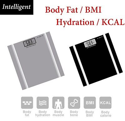 180KG Digital Personal Bathroom Weight Scales Body Fat Bone BMI Water Scale New