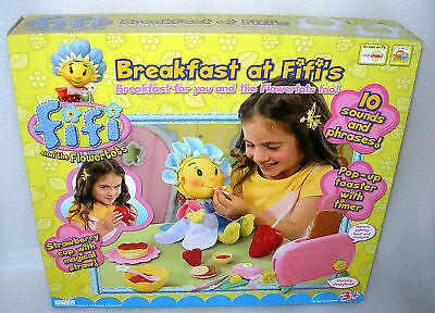 Fifi and the Flowertots Roleplay Breakfast Playset NIDB
