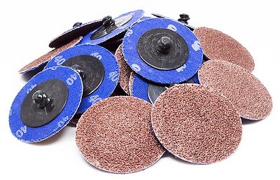 """50 - 2"""" Roloc A/O Quick Change Sanding Disc R-Type"""