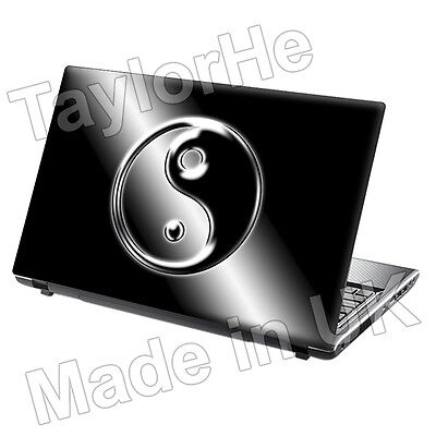 """15.6"""" Laptop Skin Cover Sticker Decal ying yang Chinese"""