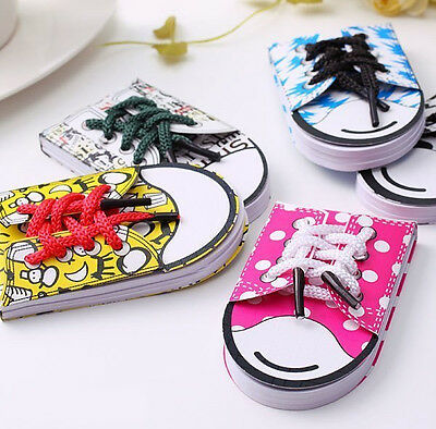 Shoes Shoelace Shape Sticky Note Paper Memo Pad Post-it