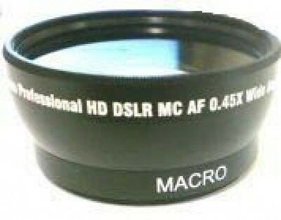 Wide Lens for Samsung SMX-F400LP SMX-F401 SMX-F401BN/XAA