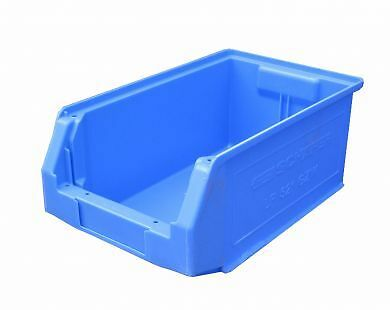 "Storage Stack  Bins Box 350Mm 14"" Parts Box Lin Bins Store Garage Sb52 -  Qty 10"