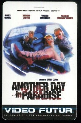 VIDEO FUTUR carte collector ANOTHER DAY IN PARADISE (86