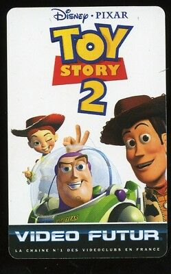 VIDEO FUTUR carte collector TOY STORY 2   (140)