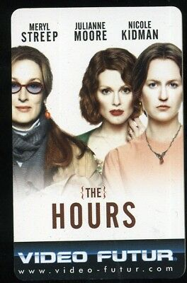 VIDEO FUTUR  collector  THE HOURS    (221)