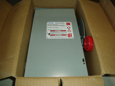 Eaton 30 Amp Heavy Duty Safety Switch