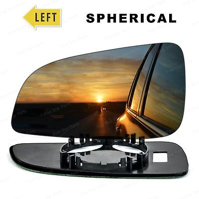 Left Passenger side Convex Wing mirror glass for Vauxhall Astra H 2004-2008