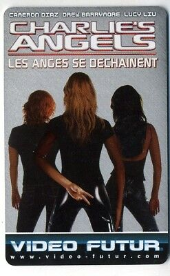 VIDEO FUTUR  collector  CHARLES ANGELS    (241)