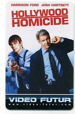 VIDEO FUTUR  collector  HOLLYWOOD HOMICIDE   (253)