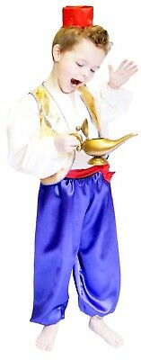 World Book Day/Panto ALADDIN or ARABIAN PRINCE Fancy Dress Costume ALL AGES