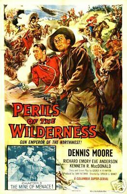 PERILS OF THE WILDERNESS 15 CHAPTER SERIAL DVD