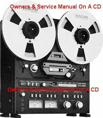 TANDBERG 6000X REEL To Reel Owners & Service Manuals Cd Free