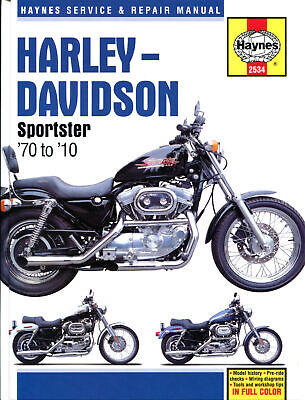 Haynes Workshop Manual H/davidson Sportster R 883 70-71