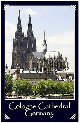 Cologne Cathedral Germany - Jumbo Fridge Magnet - New