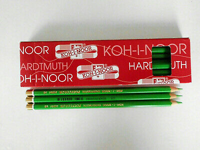 KOH-I-NOOR Mischstift &  Künstlerfarbstift(4)Cool Grey/Light Green/Babana Yellow