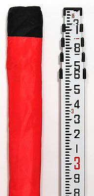 Telescopic 16' Aluminum Contractor Grade Leveling Rod -Tenths 10th, Surveying