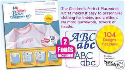 Children's Perfect Placement Tool Kit™ by DESIGNS IN MACHINE EMBROIDERY
