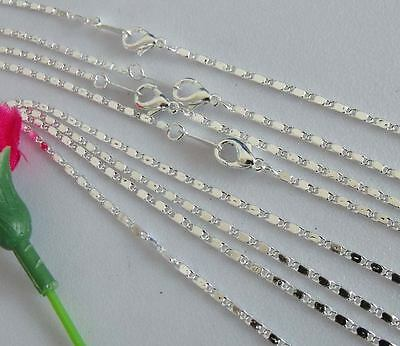 free ship 21strings silver plated chains 425x1mm #3F18